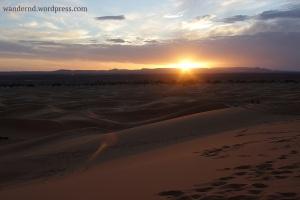 Sonnenuntergang in der Wüste - check ✓