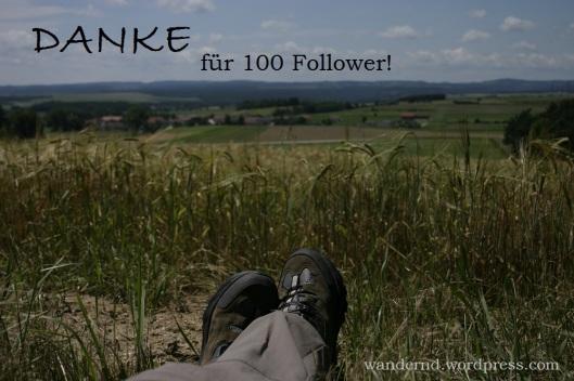 Danke für 100 Follower