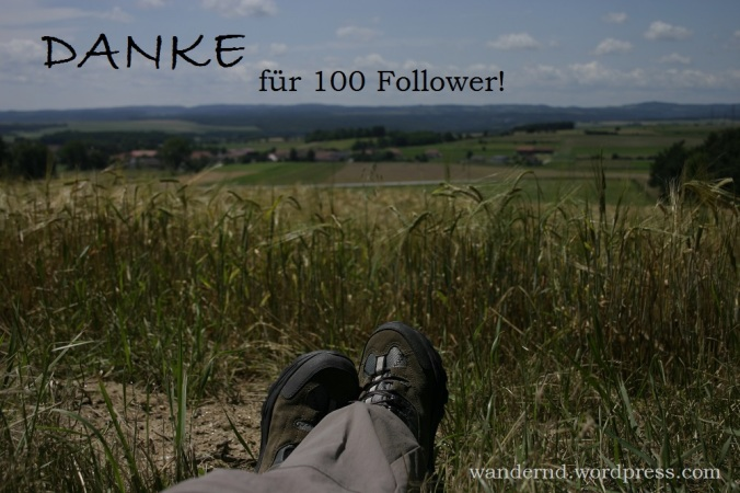 Danke für 100 Follower