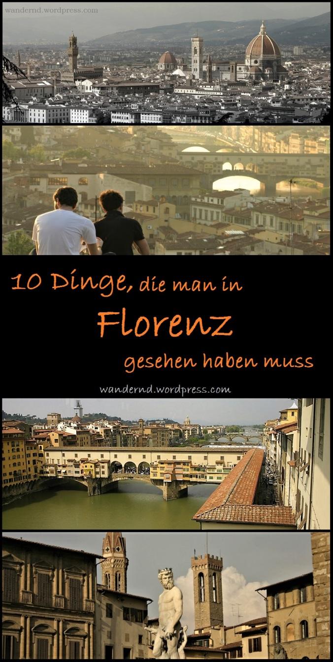10 Dinge in Florenz