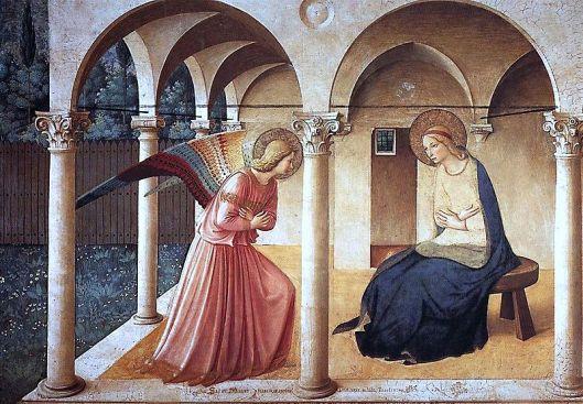 Die Verkündigung von Fra Angelico - aus WikiCommons übernommen