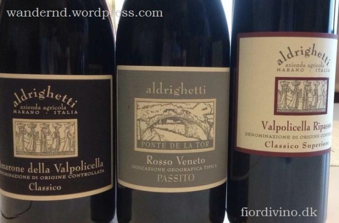 Weine aus Aldrighetti. Die Jahresproduktion liegt bei nur 10 000 Flaschen