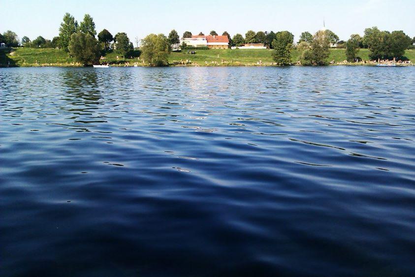 Die Neue Donau in Wien - Danke an Charly Blood für das Bild