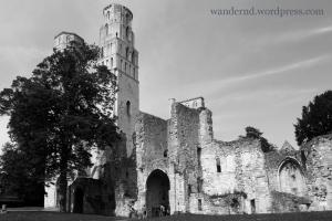 Ruine der Abtei von Jumièges