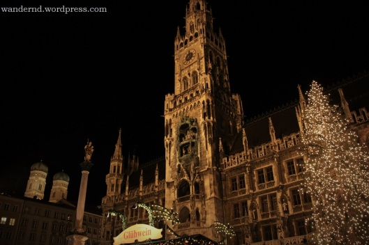 Weihnachtsmarkt am Marienplatz