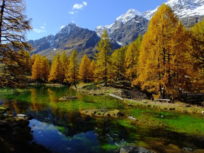 Der Lago Blu im Aostata