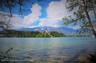 Bled Insel und Burg