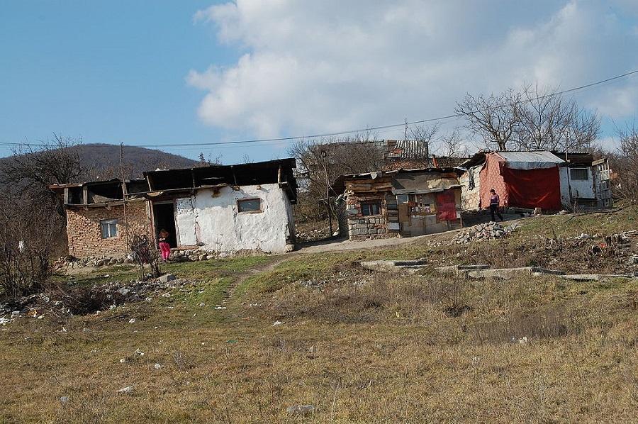 Roma settlement in Slovakia