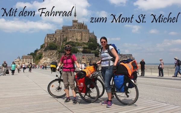 Mit dem Fahrrad zum Mont St. Michel